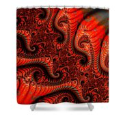 Epidermal Emancipation Shower Curtain