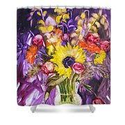 Epitaph For Rc My Friend Shower Curtain