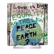 Equality Before The Law Shower Curtain
