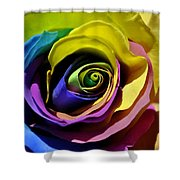 Equality Rose Shower Curtain