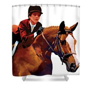 Equestrain Shower Curtain