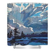 Equinox Cold Front Shower Curtain