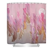 Equinox Full Moon Shower Curtain