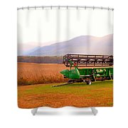 Equipment For Agriculture 2 Shower Curtain