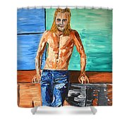 Eric Northman Shower Curtain