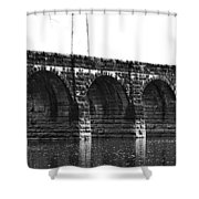 Erie Canal Aqueduct  Shower Curtain