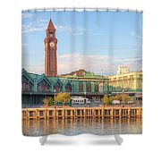 Erie Lackawanna Terminal IIi Shower Curtain