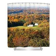 Erin Wisconsin  Shower Curtain