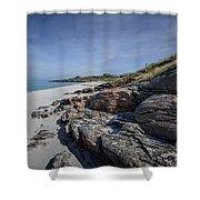 Eriskay Beach Shower Curtain