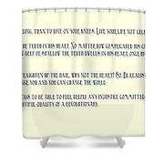 Ernesto Che Guevara Speaking 3 Shower Curtain