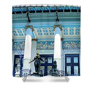 Ernst Fuchs Vienna Villa Shower Curtain