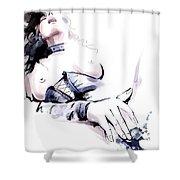 Erotic 5 Shower Curtain