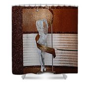 Erotic Museum Piece Shower Curtain
