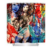 Erotic Nude 2 Shower Curtain
