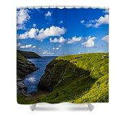 Erris Head, County Mayo, Ireland Shower Curtain