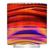Eruption # 3 Shower Curtain
