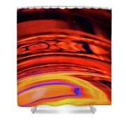 Eruption # 9 Shower Curtain