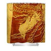 Eruptions Of The Mind - Tile Shower Curtain