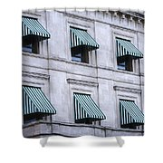 Escambia County Courthouse Windows Shower Curtain