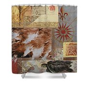 Escape And Explore IIi Shower Curtain