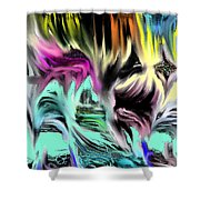 Escape From Hell Shower Curtain