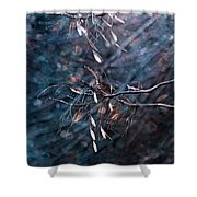 Escape From The Darkness Shower Curtain