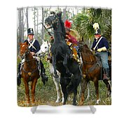 Escape Of Billy Bowlegs Shower Curtain