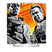 Escape Plan 2013  Shower Curtain