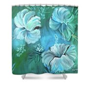 Escape To Serenity Shower Curtain