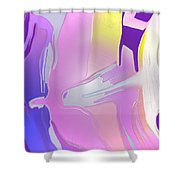 Escaping Rigidity Shower Curtain