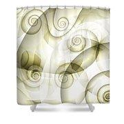 Escargot Shower Curtain