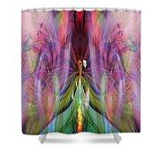 Esceheman-earthgoddess Shower Curtain