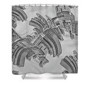 Escheresque Nyc Shower Curtain