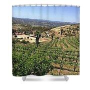 Escondido Calfornia Shower Curtain