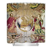 Escorial: Tapestry Shower Curtain