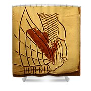 Esita - Tile Shower Curtain