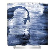 Esoteric And Exoteric Visions Meet. Shower Curtain