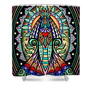 Espiritu 1- Goddess Shower Curtain