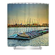Esplanade Dock 023 Shower Curtain