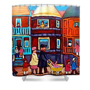 Esplanade Street Sabbath Walk Shower Curtain