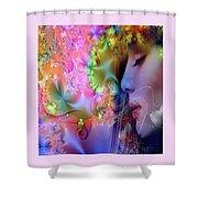 Essence Of Love Shower Curtain