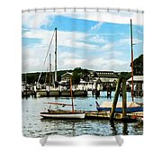 Essex Ct Marina Shower Curtain