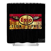 Esso Circa 1920's Shower Curtain