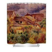 Essoyes Landscape 1884 Shower Curtain