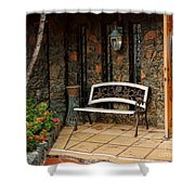 Estate St. Peter Greathouse And Botanical Gardens Shower Curtain