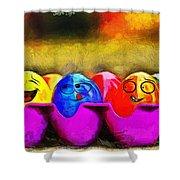 Ester Eggs - Pa Shower Curtain