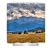 Estes Park From Glen Haven 3 Shower Curtain
