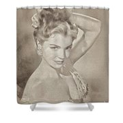 Esther Williams, Vintage Hollywood Actress Shower Curtain