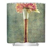 Estillo Vintage Textured Shower Curtain
