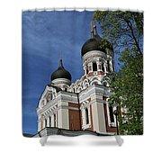 Estonia Church  Shower Curtain